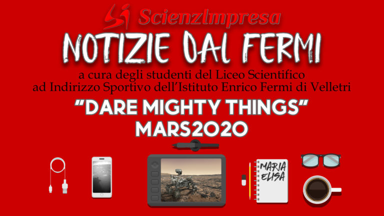 """Dare Mighty Things"" MARS2020"
